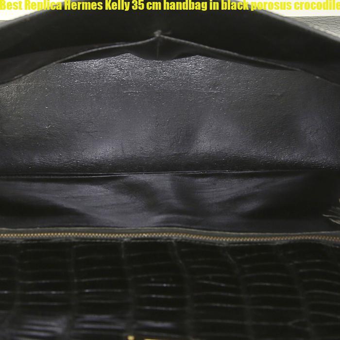02bc93be5ba9 Best Replica Hermes Kelly 35 cm handbag in black porosus crocodile – Hermes  Replica Belts – High Quality Replica Best Hermes Bags Belts