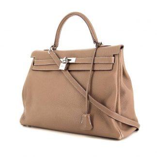 640246c6e45 High Quality Replica Hermes Kelly 35 cm handbag in etoupe togo leather ...